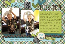 scrapbook pages / by Sabrina Green