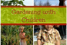garden-kids outdoors! / by Constantina Olstedt