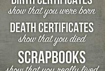 Scrapbooking  / by Melissa Whittamore