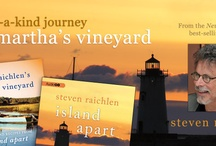 Steven Raichlen's Island Apart / Recently, AudioGO ventured out of the recording studio and into the vineyard—Martha's Vineyard, that is—to create an exclusive, one-of-a-kind audio experience: Steven Raichlen's Martha's Vineyard. To celebrate the release of Raichlen's debut novel, Island Apart, we joined the acclaimed food writer and PBS TV host as he took us on a historical and culinary tour of his beloved island and prepared the delicious food that plays a central role in his novel for this original cooking show on audio.  / by AudioGo