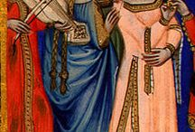 Giuliana's Closet  / Late 15th & early 16th century Italian costuming, hairstyles & accessories. / by Julie Minor