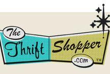 Thrift Shopping: Yard Sales, Flea Markets, etc. / by Sue Gallen