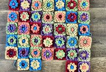 Crochet - Flower Squares / by Mirra Zulkifli