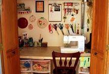 Craft room/guest room / by Erin Fraser