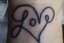 tattoos / by Megan Taylor