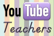 YouTube Teachers / Find tips and resources by teachers who are sharing their knowledge through YouTube. Are you a YouTube teacher? Email at tabitha@flapjacklapbooks.com for an invite to share your educational videos! / by Tabitha Carro