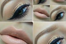 makeup and hair / by Sana Sikander