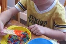 Preschool: Tot Tray Ideas / by Janette McCord