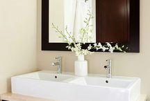 Bathroom Ideas / Ideas for the guest bathroom. / by Maggi Shelbourn