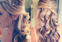 Bridesmaid hair ideas / by Amy Kenfield