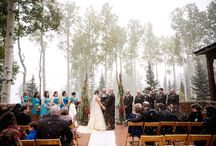 Wed / Rustic, chic, and refined. Weddings in Telluride are unforgettable. / by The Peaks Resort and Spa