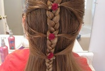 Girls hair / by Louise wilby