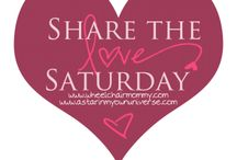 Share the Love Saturday / by Priscilla Hedlin| Wheelchair Mommy