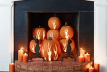 Fall/Halloween decor and ideas / by Katy Stanford