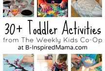 Baby/Toddler activities / by Aubree Cherie @ Living Free