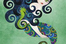 inspiration- mermaids / by Danielle Yearack
