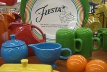 *~Fiesta ware~* / by Janice Strider-Corona