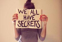 Secretos / by Suspiros de Vida
