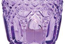 Purple glass / by Nancy Violette