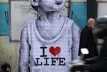 Is it art if it's on the street? / by Gina-Maria Garcia