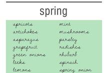 Season: Spring  / by LW LH
