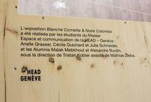 Oiseaux, exposition au Muséum de Genève  / Blanche Corneille & Noire Colombe réalisée par les étudiants du Master Espaces et communication de la HEAD - Genève  / by HEAD – Genève