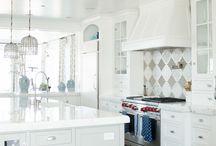 White Kitchens / by Studio41 Home Design Showroom