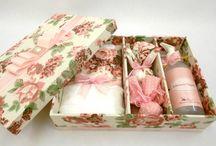 caixas decoradas / by Joce Brugnolli Brescancini