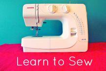 Sewing / by Amanda Miller