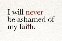 Faith!  / by Megan Cook