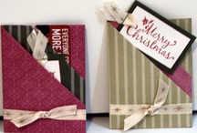 Gift card holders / by Lucille McMullen