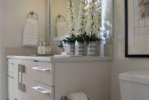 Master Bathroom Design Ideas / by Jackie Ames