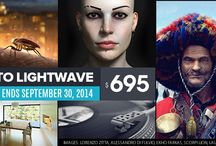 PROMOTIONS! / Great deals and promotions for 3D software and partner software for creating amazing 3D CG for movies, games, architectural visualization, graphic design, and so much more! / by LightWave 3D Group