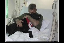 Soldiers n service dogs / by Heather Conn
