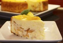 Recipes: Cheese Cakes / Cheese cake recipes only / by Margie Leow