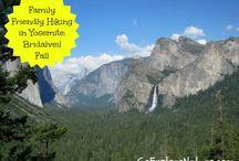 Yosemite National Park / by WALK SIMPLY Outdoors, Hiking, Walking, Play