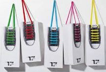 graphic design bags / inspiration smart design linnen and cotton bags / by Ruth Catsburg