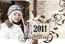 Scrapbook layouts / by Jennifer Hansen