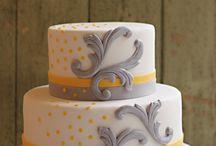 Yellow & Grey Baby Shower / by Lauren Saxton