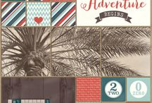 Digital Project Life Page Layouts Ideas / This board is dedicated to my favorite digital Project life, pocket pages layouts / by Ania Kozlowska-Archer
