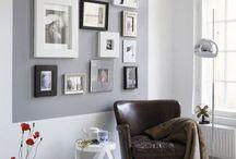Képek a falon inspirációk / Lakberendezési ötletek üres falakhoz / by Csorba Anita