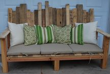 Pallet ideas / by Christina Frost Walmsley