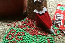 Elf on the shelf ideas  / by Stacy