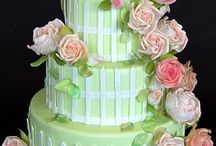 Cakes: Pink and Green / by Bonnie Merchant