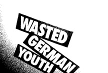 WASTED GERMAN YOUTH // pop up pinboard / original design by PAUL SNOWDEN www.wastergermanyouth.com / by Jason .FI