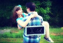 She said Yes! / engagement photos / by Wendy Alpaugh