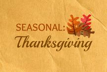 SEASONAL: Thanksgiving / All things Thanksgiving!! / by WannaBite (Lacy & Nathan)