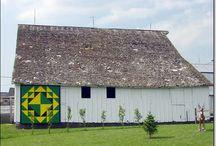 Barns (Quilt Squares) / by Miriam Gail Livingston