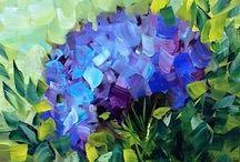 Flower Art / by Olive (Barbara) Harvie