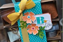 stampin up boxes / by Laurie Pelott